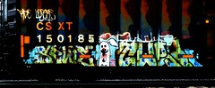 RDO Losers (mightyquinninwky) Tags: old railroad rabbit bunny yard train stars geotagged graffiti character tag graf cartoon tracks rusty indiana railway tags tagged southernindiana urbanart faded railcar rusted rails weathered spraypaint boxcar graff graphiti losers freight stamped trainyard ebis violent buffed csx trainart paintedtrain freightyard railart spraypaintart rdo csxt taggedtrain evansvilleindiana taggedboxcar paintedboxcar paintedrailcar taggedrailcar geo:lon=87616128 bunnywithfro geo:lat=37954536