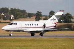 CS-DRR - 258786 - Netjets Europe - Raytheon Hawker 800XPI - Luton - 091008 - Steven Gray - IMG_0003