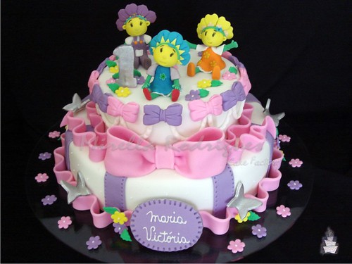 Bolo decorado ''Fifi'' / Fifi's cake