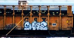 Woe - Shore (mightyquinninwky) Tags: logo geotagged graffiti character tag graf indiana tags tagged railcar shore graff woe graphiti csx paintedtrain taggedtrain evansvilleindiana geo:lon=87609143 paintedrailcar taggedrailcar geo:lat=37959045 11223344556677 carfireonflickr charactersformyspacestation