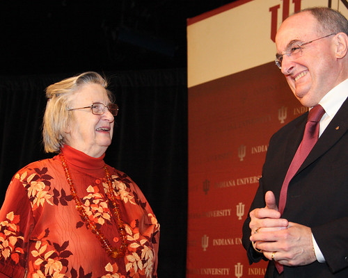 2009 Nobel economics laureate Elinor Ostrom