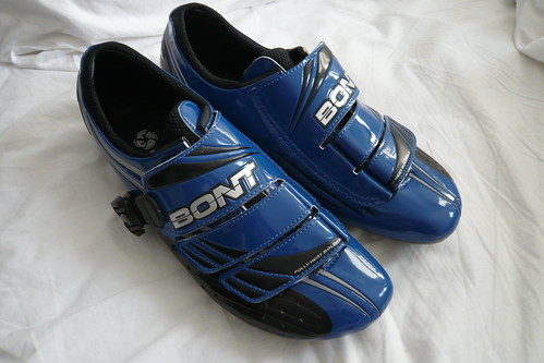 Bont A1 Cycling Shoes in blue