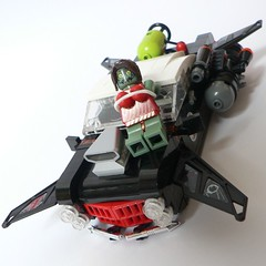 chick (Scrat_) Tags: car lego space iii police chick sp ii hovercar lugpol