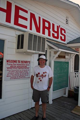 At Henry's Restaurant