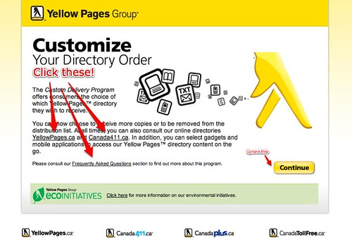 Yellow Pages Opt-Out