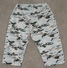 Sky Camo Baby Pants