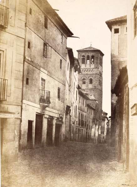 Calle de Santo Tomé de Toledo en 1853. Fotografía de Charles Clifford. © Victoria and Albert Museum, London