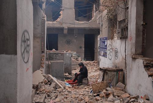"""即将被拆迁的""""游艺市场""""街区"""