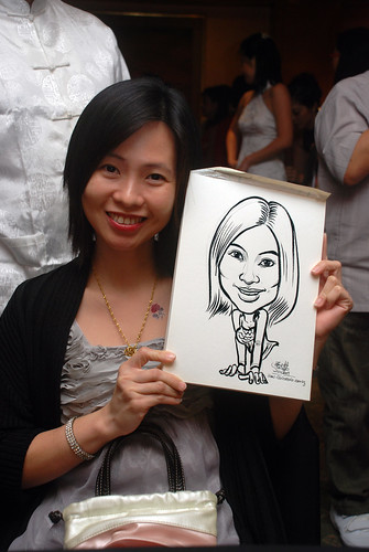 Caricature live sketching for Nera Telecommunications Ltd - 3