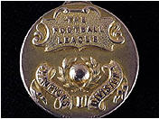 1920 Football Champoinship Medal