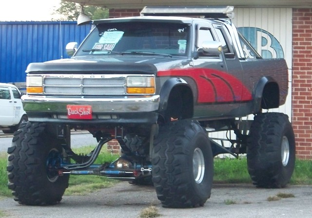 4x4 360 dodge redneck 1994 dakota 318 lifted clubcab liftkit mudtires