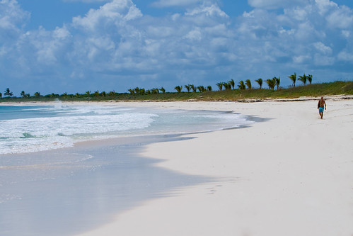 Azure Waters and White Sands of Serenity Point, Schooner Bay Beach