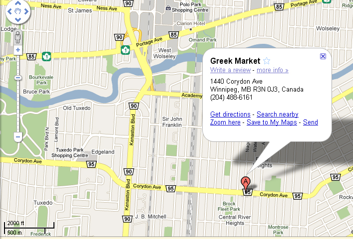 Greek Market on Corydon