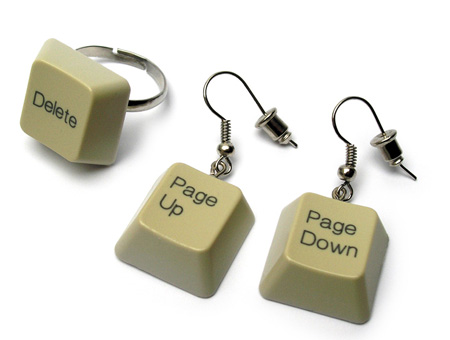 Keyboard ear rings