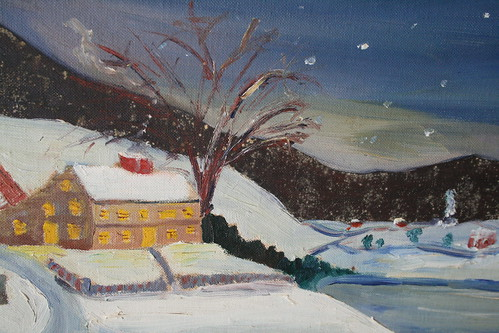 Lovely Winter Painting