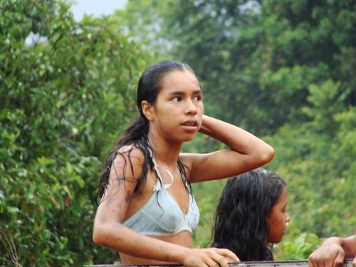 tribes Amazon girls indian