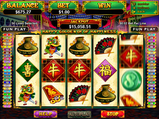 Happy Golden Ox of Happiness slot game online review