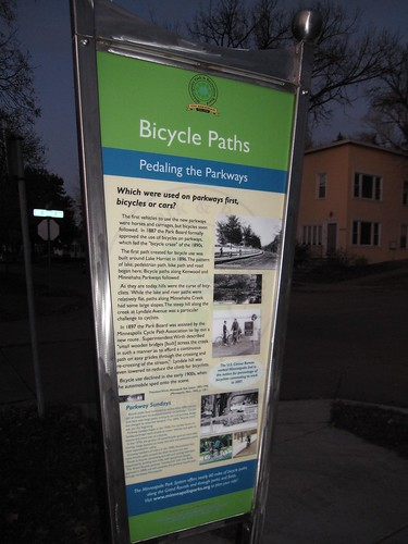 Bicycle Paths Info on St. Anthony Parkway