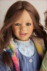 Happy girls (MiriamBJDolls) Tags: 2004 doll vinyl linn limitededition happygirls annettehimstedt himstedtkinder