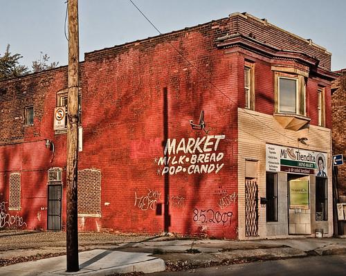 abandoned market store