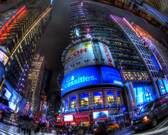 TimeSquare (Alex Toth | www.alextothphotography.com |) Tags: street new york city alex colors night buildings photography lights high amazing long exposure dynamic time manhattan com times scape range hdr toth sqaure