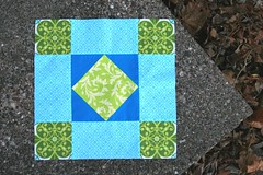 amish diamond block