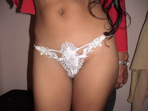 pantie Amateur showing