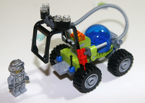 2010 LEGO 8188 Power Miners - Fire Blaster finished