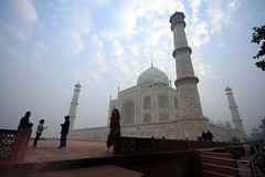 Taj : from an unusual angle (AgniMax) Tags: travel india tourism monument architecture asia angle pov taj tajmahal agra tourist mausoleum majestic eternity vacations traveldestinations mugal placeofinterest shajahan publiccelebratoryevent tajmahalmonumentinagra lowerangleview