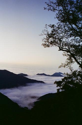 夕陽雲海2