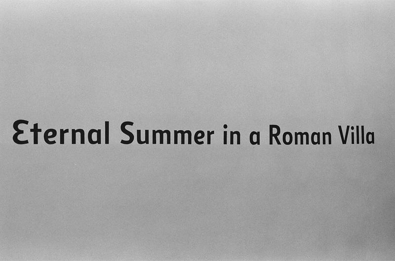 Eternal Summer in a Roman Villa