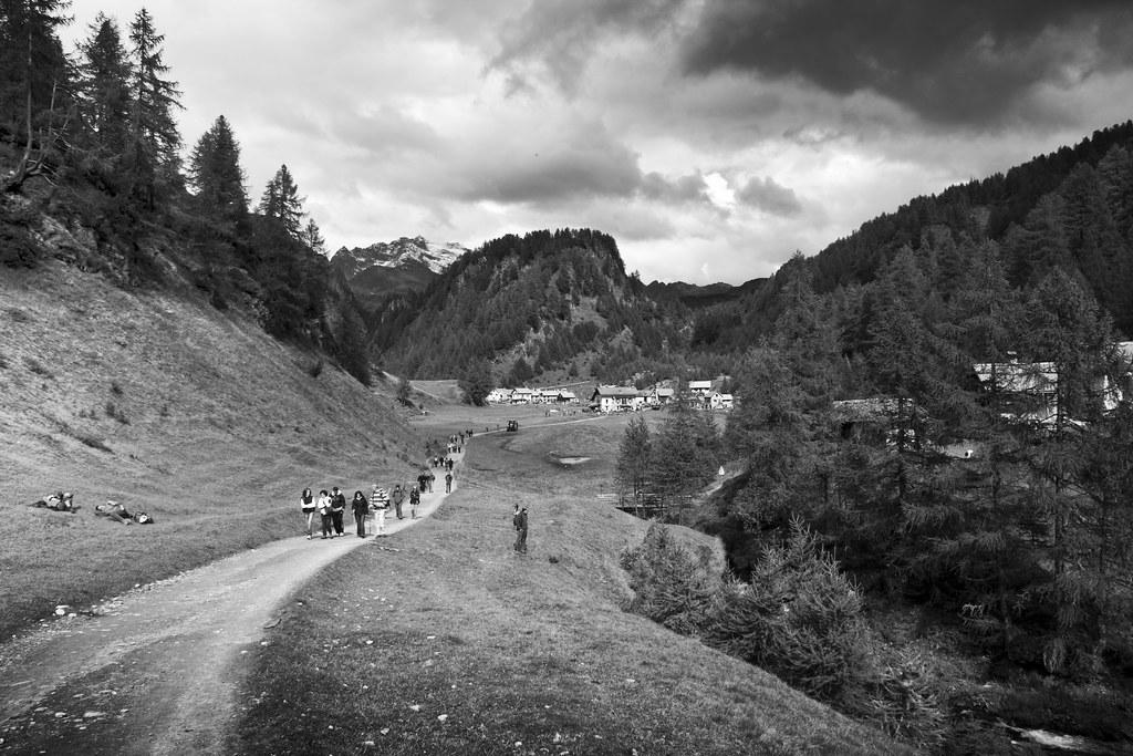 Road to Crampiolo