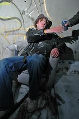 beer (teh hack) Tags: urban abandoned und hand grant models stacys range base assult strobes griesbach strobist