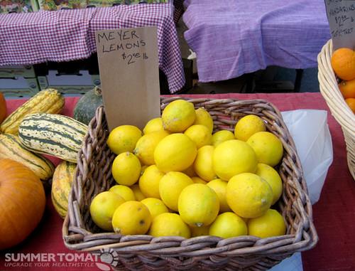 Meyer Lemons In Basket