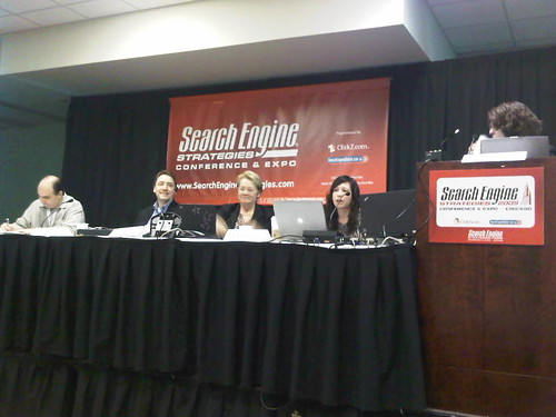 panelists during Search Industry Today session at SES Chicago 2009