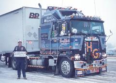 2-Million KM 12-28-90 (Highway Hank) Tags: truck trucks arkansas trucking kenworth cabover aerodyne kenworthk100 kenworthcabover kenworthaerodyne kenworthk100caerodyne caboveraerodyne