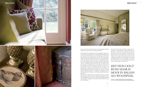 Tulp Magazine - A warm house, pages 5&6