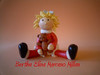 Muñeca Navidad Altura 12 Ctm. Aprox. (Bertha Elina Marcano) Tags: en navidad pasta masa francesa flexible fria porcelana porcelanicron felxible