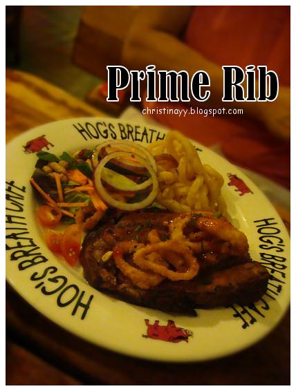 Hog's Breath Cafe: Calamari Prime Rib