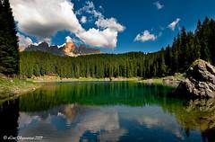 20090815_9590 (Lino Sgaravizzi ) Tags: natura paesaggi dolomiti carezza laghi mywinners flickrdiamond theunforgettablepictures