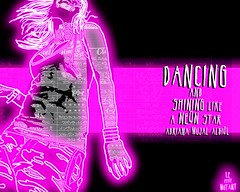 Dancing and shining like a NEON STAR (LePetitMutant) Tags: music newyork illustration brooklyn disco graffiti star see la dance amazing funny neon shine sampler dancing bronx bajo roots murals blues twist scat turntable queens jungle soul funk electro mutant rap breakdance magazines aerosol must msica looping lindyhop dub rb baile synthesizers bombing pintura djing locking livebands breakbeat pooping cappella drumnbass hustle paining popping triphop batera frica  lepetit griot politicalgraffiti sintetizador drummachines loocking beatboxing rapsoda uprocking karlitos modernbeats cajaderitmos rapeo lepetitmutant blueshablado subgeneros adrianamujal