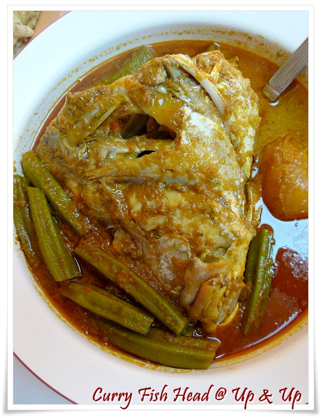 Curry Fish Head @ Up And Up Restaurant