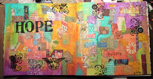 Hope :: Art Journal Page