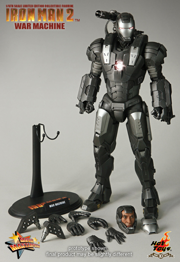 War Machine Hot Toys figura