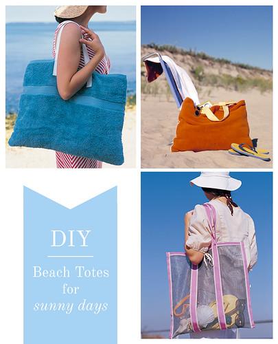 DIY Beach Totes