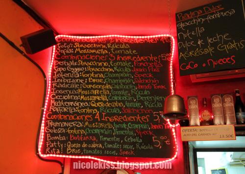 piadina menu