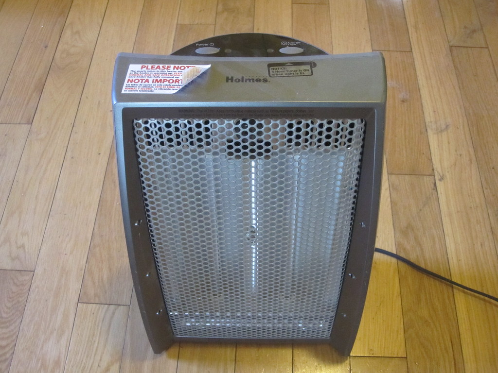 Safety Heater with 4hr timer - $10