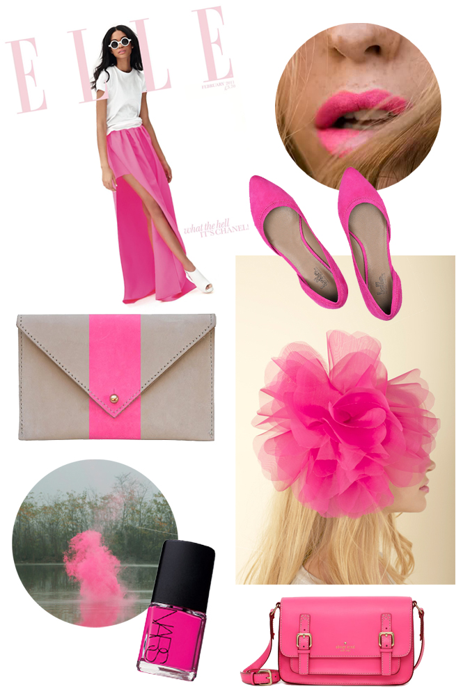 hot pinks: fashion trends