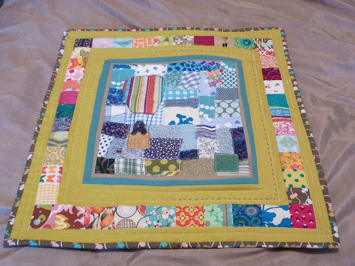 Finished Quilt for Brit Quilt Swap