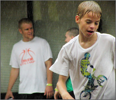 Lancaster Ohio - Gus Macker Basketball - 2011 (rbatina) Tags: county street city boy columbus ohio people playing man game streets male men guy sports boys muscles basketball sport june st festival ball court outside outdoors athletic downtown play shot muscular main contest group young free first competition guys 18th dude tournament event teen sweat gathering lancaster strong oh annual athletes thin bball 18 gus dudes trim broad amateur 3rd built fit fairfield teenage 3on3 tourney sweating macker 2011 rubbertoe